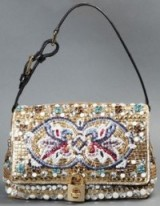 Dolce & Gabbana embellished shoulder bag.