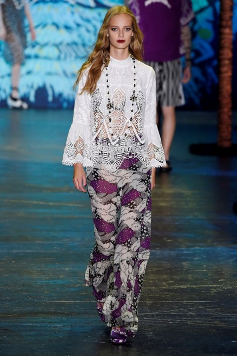 Anna Sui Rtw Spring Summer 2016 New York Fashion Week Designer Cl