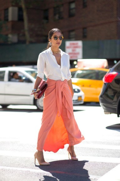 Street style NYFW Spring/Summer 2016. New York Fashion Week | outfit inspiration - flipped