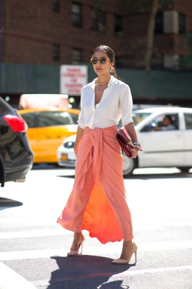Street style NYFW Spring/Summer 2016. New York Fashion Week | outfit inspiration