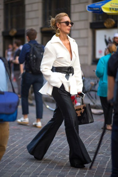 Street style NYFW Spring/Summer 2016. New York Fashion Week | outfit inspiration | chic outfits - flipped
