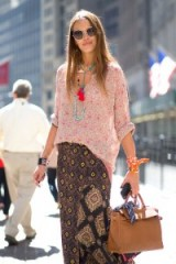 Street style NYFW Spring/Summer 2016. New York Fashion Week | outfit inspiration | mixed prints