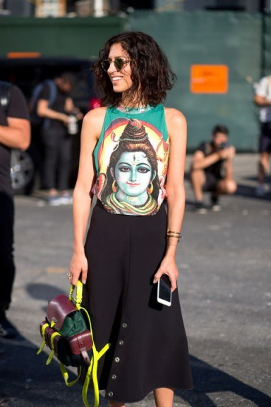 Street style NYFW S/S 2016. Outfit inspiration | New York Fashion Week - flipped