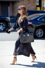 Miroslava Duma street style at NYFW S/S 2016. Celebrity outfits | outfit ideas | style icons