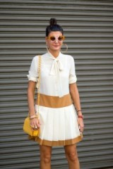 Giovanna Battaglia street style at NYFW S/S 2016. Style icons | outfit inspiration | chic outfits