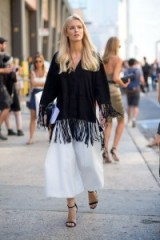 Kate Davidson Hudson street style NYFW S/S 2016. Style inspiration | spring/summer outfit ideas | outfits