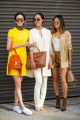 Girls with style…Irene Kim, Chriselle Lim and Aimee Song – NYFW S/S 2016. Street style | outfit inspiration | spring/summer outfits