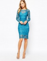 Body Frock ~ Lisa lace dress in Topaz. Party dresses – going out – evening fashion – occasion wear