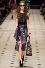 Luxe fashion – Burberry Prorsum Ready to Wear F/W 2015. Prints / luxury clothing