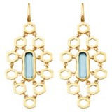 Astley Clarke London Blue Topaz Chandelier Earrings, Blue. Drop earrings ~ jewellery