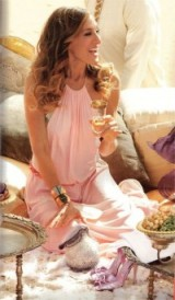 Carrie in Halston ~ SATC2 #carriebradshaw