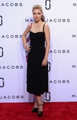 Imogen Poots at Marc Jacobs spring/summer 2016 NYFW. Celebrity outfits   star style   LBD