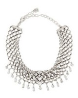 Dannijo Marianna Jet Choker Necklace with Swarovski crystals from neimanmarcus.com. Make a statement | crystal chokers | occasion jewelry | designer fashion jewellery