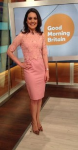 Laura Tobin pretty in pink wearing a Paper Dolls UK dress and Zara leopard shoes #animal