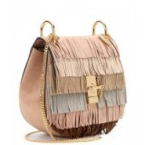 Luxe handbags ~ Chloe Drew fringed suede shoulder bag. Luxury bags ~ designer accessories