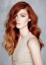 Gorgeous long red wavy hair. Hairstyles | beauty