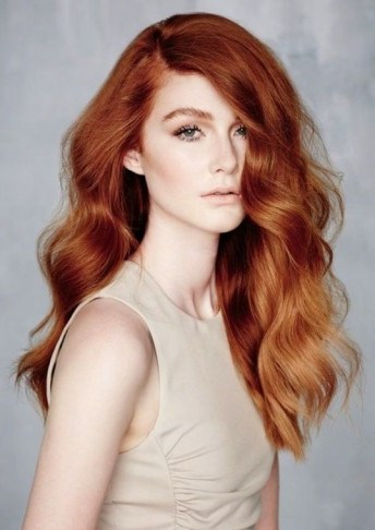 Gorgeous long red wavy hair. Hairstyles | beauty - flipped