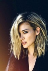 Messy long blonde bob. Hairstyles | hair & beauty inspiration