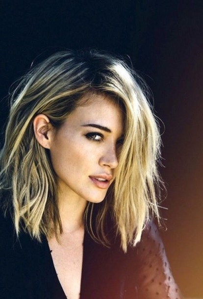 Messy long blonde bob. Hairstyles | hair & beauty inspiration - flipped