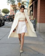 Kendall Jenner heading to the 2015 US Open. Celebrity street style | outfits | outfit inspiration