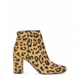 Add a touch of glamour with these Saint Laurent leopard print ankle boots. Designer fashion / autumn winter footwear / luxe style accessories