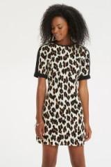 Oasis Lulu leopard print shift. Animal print dresses / autumn fashion