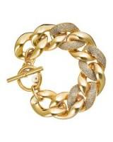 Pave link bracelet by Michael Kors. Make a statement | chunky bracelets | bold jewelry | designer fashion jewellery