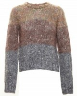 No21 Diamante Studded Knit. Multicoloured jumpers | designer knitwear | knitted fashion | embellished sweaters | womens winter knits