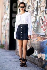 Street style NYFW S/S 2016. Style inspiration | spring/summer outfits