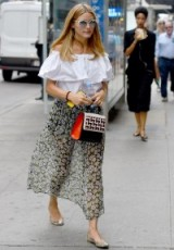 Olivia Palermo out in New York City, August 2015 – style icons – celebrity fashion – summer outfits