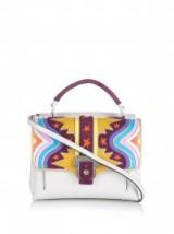 PAULA CADEMARTORI Petite Faye leather handbag. Designer handbags / luxe style bags #