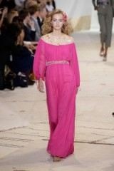 Glamour on the runway ~ Diane von Fursetnberg Sring 2016 NYFW ~ New Romantics ~ romantic style fashion