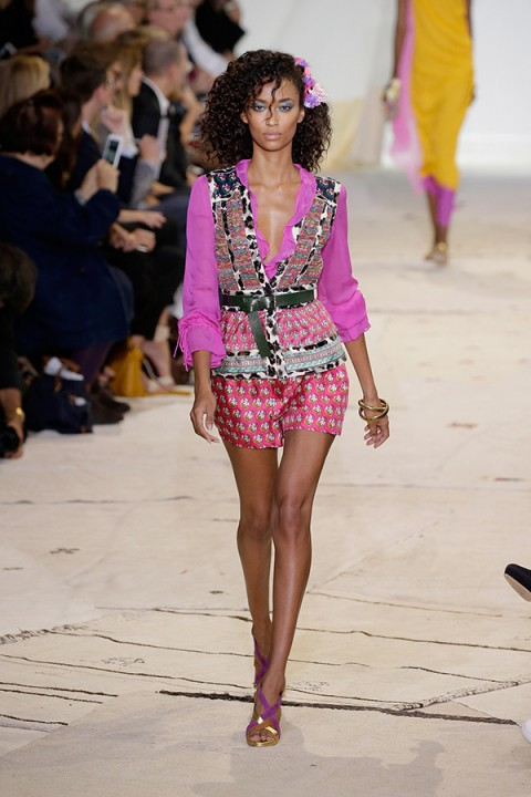 Glamour on the catwalk ~ Diane von Fursenberg NYFW Spring 2016 ~ glamorous runway looks
