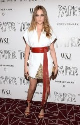 Cara Delevingne wearing Alexandre Vauthier Couture ~ Paper Towns special screening in West Hollywood, July 2015