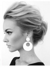 Chic updo | hairstyles