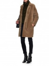 Sheer luxe ~ 32 PARADIS SPRUNG FRÈRES Reversible shearling coat in brown. Luxury fashion / womens designer outerwear / fluffy winter coats  #
