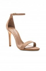Perfect party sandals for any outfit ~ SCHUTZ Cadey Lee Heel in Neutral. Barely there ~ evening shoes ~ going out high heels