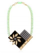 Make a statement with this Silvia Rossi sun flower necklace…Lovely! Bold necklaces | designer fashion jewellery