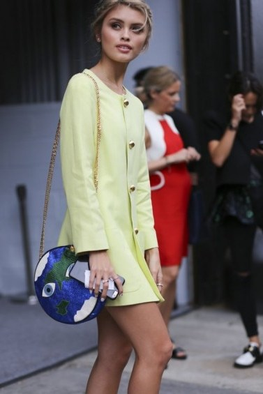 Street style from NYFW s/s 2016 - flipped