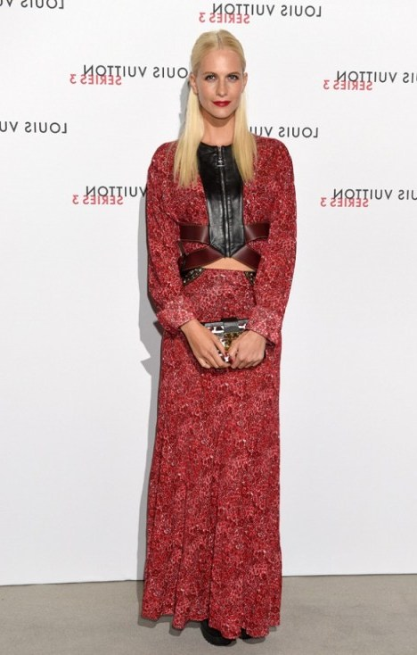 Poppy Delevingne attends the Louis Vuitton Series 3 VIP launch, 20 September 2015. LFW S/S 2016 events / style icons / celebrity fashion / designer maxi dresses  # - flipped