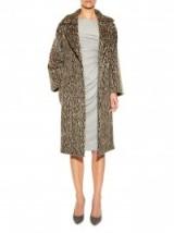 MAX MARA Attuale coat leopard print. Animal prints – designer coats – chic style outerwear
