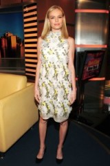 Kate Bosworth wearing a floral Erdem dress, September 2015