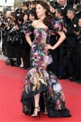 Italian model Bianca Balti in Dolce & Gabbana at Cannes 2013