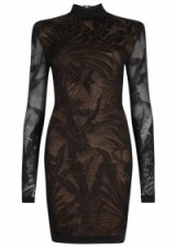 BALMAIN Black mesh mini dress ~ luxury occasion dresses ~ designer evening wear