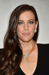 Liv Tyler wears a statement jewel encrusted Bulgari serpent necklace, attending the BVLGARI & ROME Eternal Inspiration Opening Night, held in New York City, 13 October 2015. Celebrity style – celebrities at events – jewellery – gold & diamond necklaces