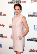 Jennifrer Garner wearing a pink Valentino Wool and silk-blend dress mytheresa.com, attends the American Cinematheque Awards in L.A. 30 October 2015. Celebrity fashion | star style shift dresses | designer clothing | what celebrities wear at events