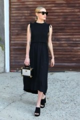 Kate Bosworth style ~ stylish celebrities ~ chic looks ~ all black outfits