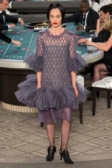 CHANEL Couture Fall 2015 ~ chic style gowns ~ designer clothing ~ stylish ~ frills & embellishments