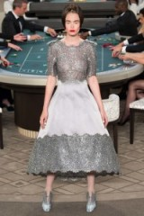 CHANEL Couture Fall 2015 ~ chic style lace gowns ~ designer clothing ~ stylish