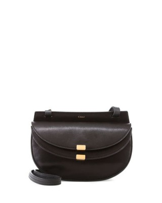As worn by Reese Witherspoon out in Santa Monica, 8 October 2015…Chloe Georgia Mini Leather Crossbody Bag in Black. Celebrity fashion | designer bags | luxury handbags | star style | what celebrities wear
